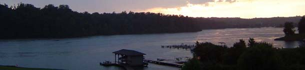 View of Lake Anna, in Louisa, Virginia