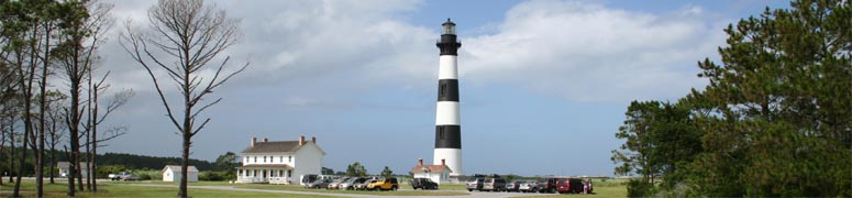 Image of southern lighthouse in NC